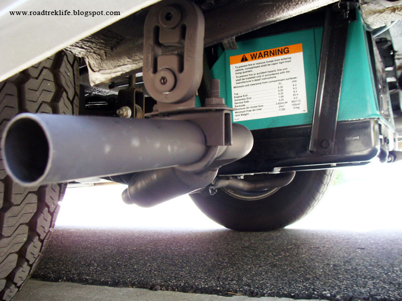Roadtrek Modifications Mods Upgrades And Gadgets Quieting The