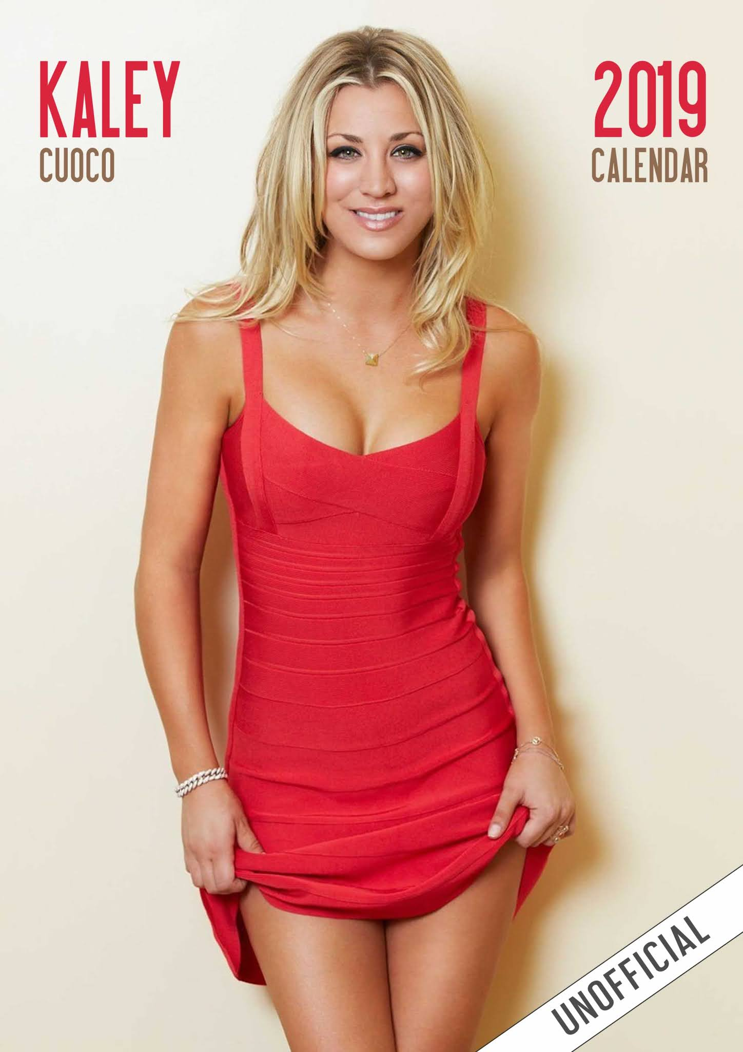 DC COMICS AND ARROWVERSE : Kaley Cuoco Calendar Photoshoot 2021
