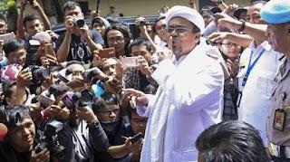 Istana Sebut 'Revolusi Akhlak' HRS Seruan Untuk Menggulingkan Jokowi