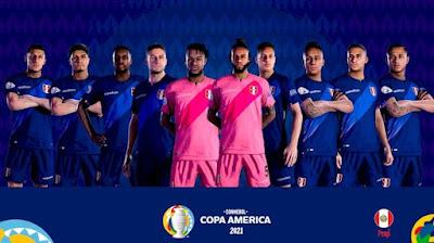 PES 2021 Peru National Team FacePack by Yeshua
