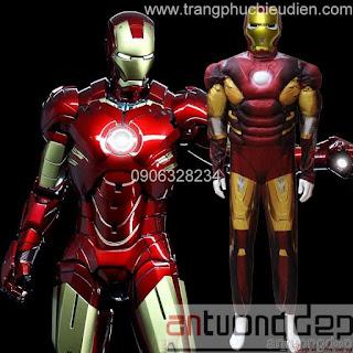 cho thuê trang phục ironman
