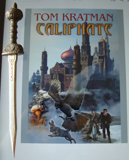 Portada del libro Caliphate, de Tom Kratman