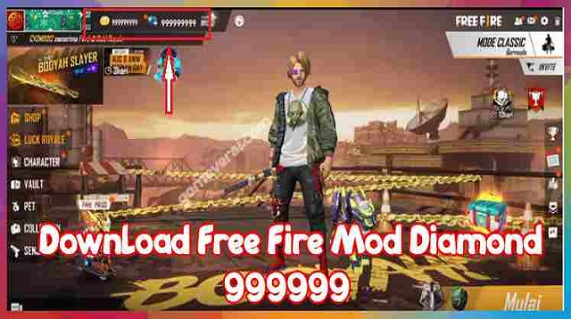 Aplikasi Hack Diamond Free Fire