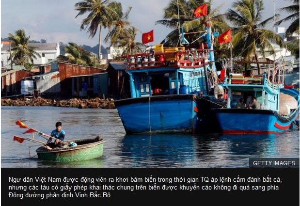 Tàu cá TQ ồ ạt đổ xuống Biển Đông sau ba tháng rưỡi tạm nghỉ