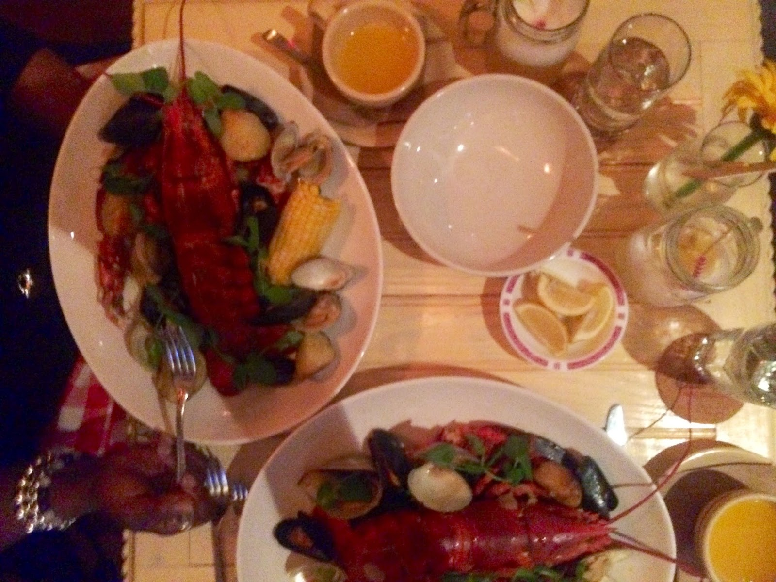 seafood, lobster, Chalk Point Kitchen, SoHo, NYC, Eating Fabulously, Christopher Stewart