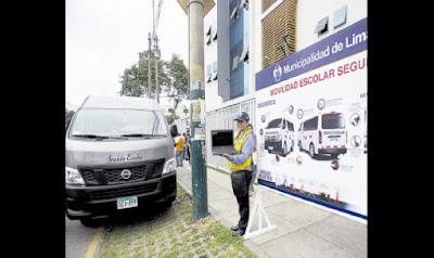 Más de 3 mil unidades autorizadas para brindar movilidad escolar en Lima