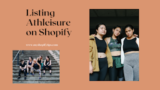 Listing Athleisure Wear on Shopify for Beginners