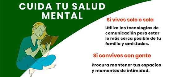 Cuide su salud mental