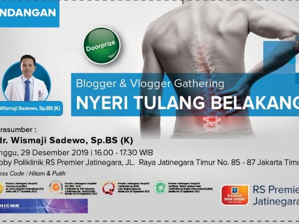 Sakit Nyeri Tulang Belakang (Paparan dr. Wismaji Sadewo, Sp. BS (K))
