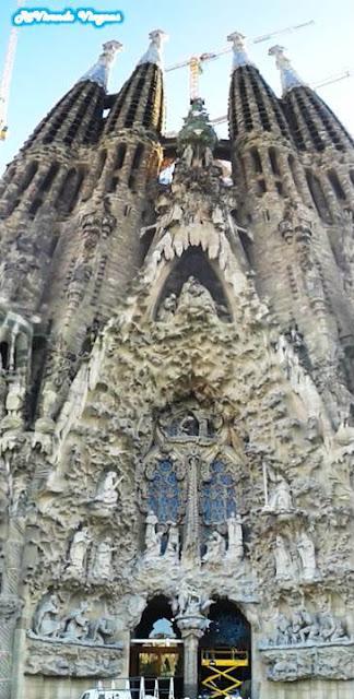 Sagrada Família por fora