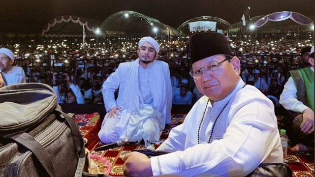Prabowo Dielu-elukan di Madura, Gimana Kira-kira Perasaan La Nyalla?