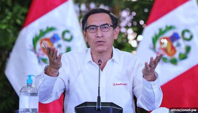 Presidente de la República, Martín Vizcarra FOTO