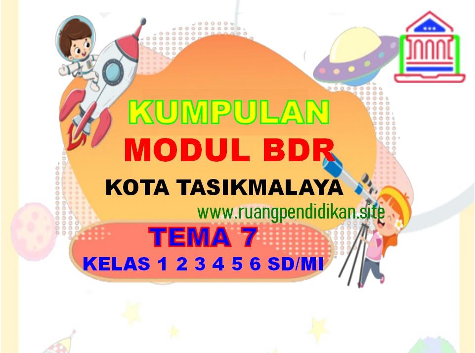 Kumpulan Modul BDR Tema 7