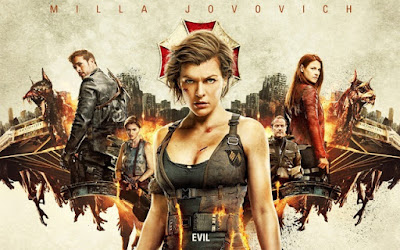Resident Evil Movie Art