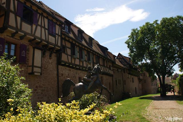 Cinta Muraria de villaggio di Riquewihr