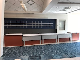 New Circulation Desk has been installed