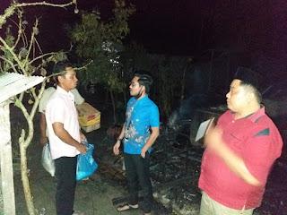 Gegara Kompor Gas, Rumah Sinaga Ludes Terbakar Dilahap Sijago Merah