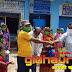 सिमुलतला में सीएसपी संचालक द्वारा किया गया मास्क एवं हेंडवास का वितरण