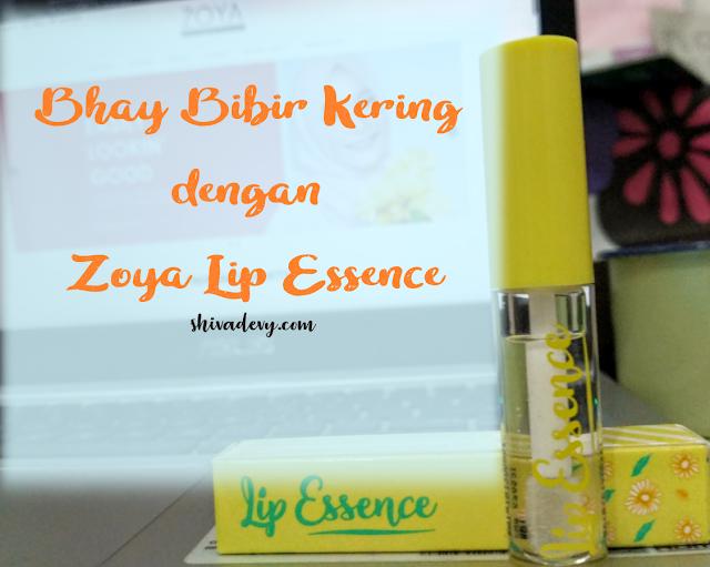 Zoya Lip Essence Solusi Bibir Kering