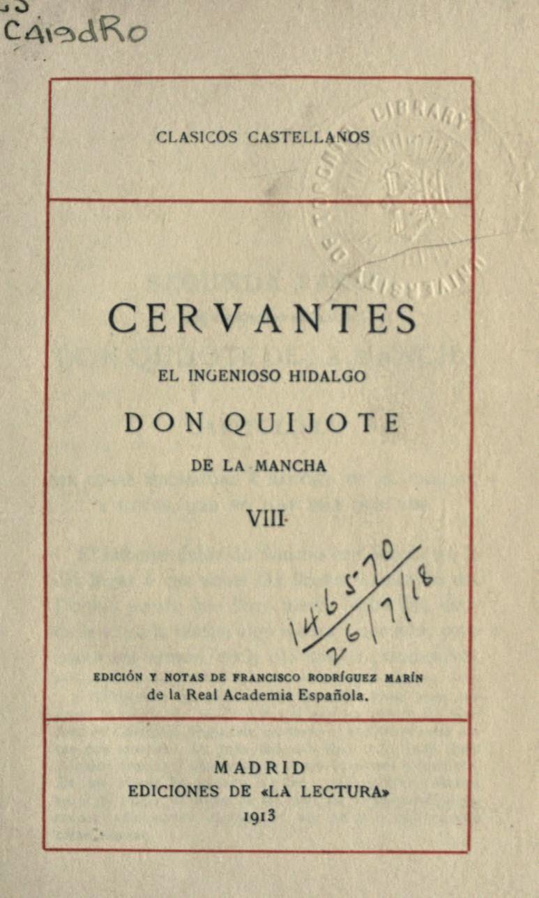 Quijote VIII