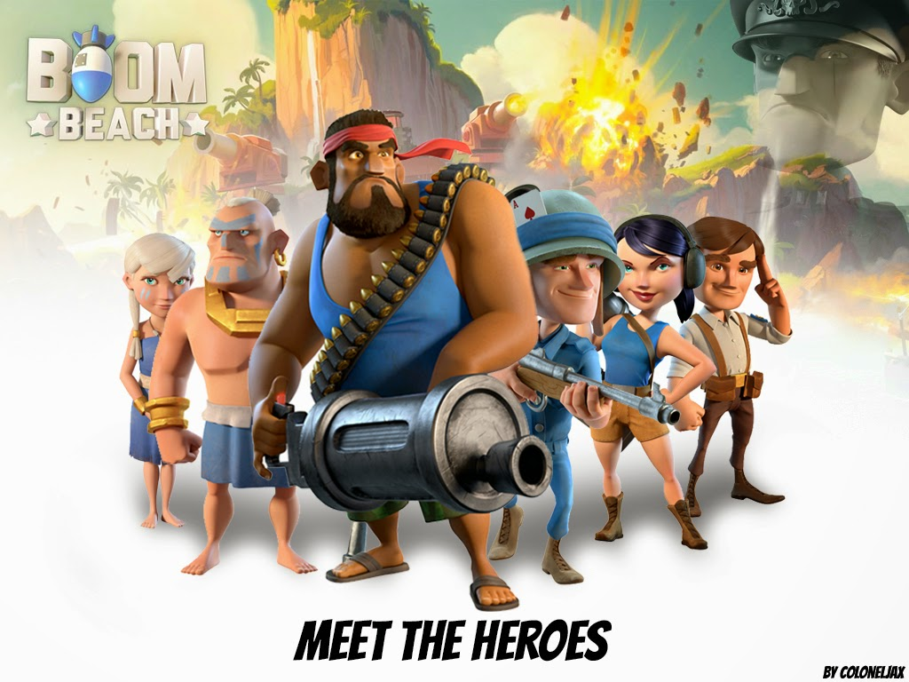 Boom Beach Apk v26 135+Data (Online Strategy) for Android