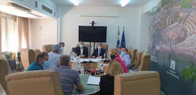 Σύσκεψη στο Δημαρχείο Καλαμάτας για το δρόμο σύνδεσης Άνω και Κάτω Βέργα
