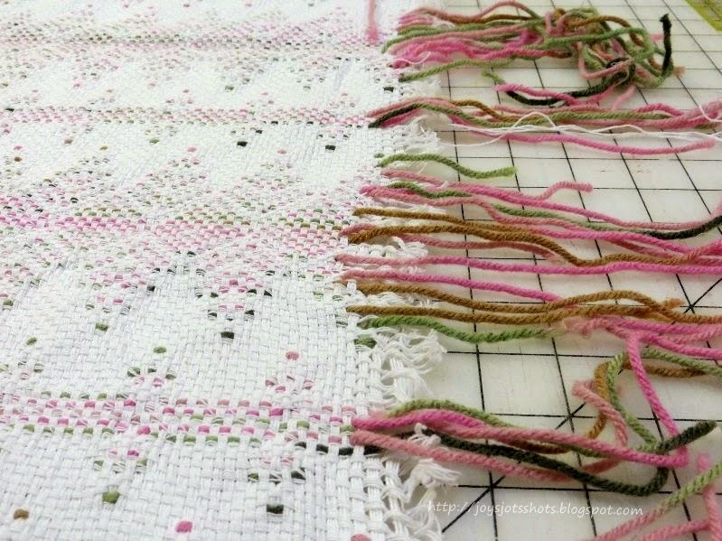 Joys Jots Shots Whatnots Swedish Weaving Huck Embroidery