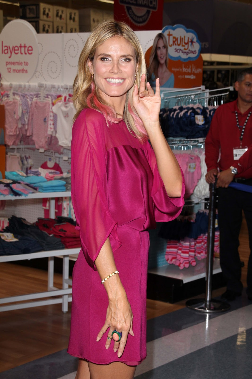 Heidi Klum Heidi Klum at Truly scrumptious Collection for