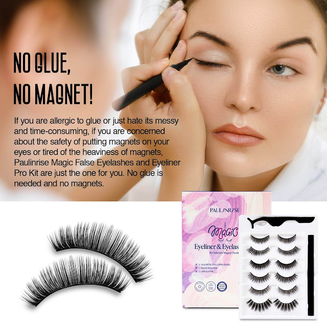 Magnetic Eyeliner and Eyelashes Kit By Barbies Beauty Bits
