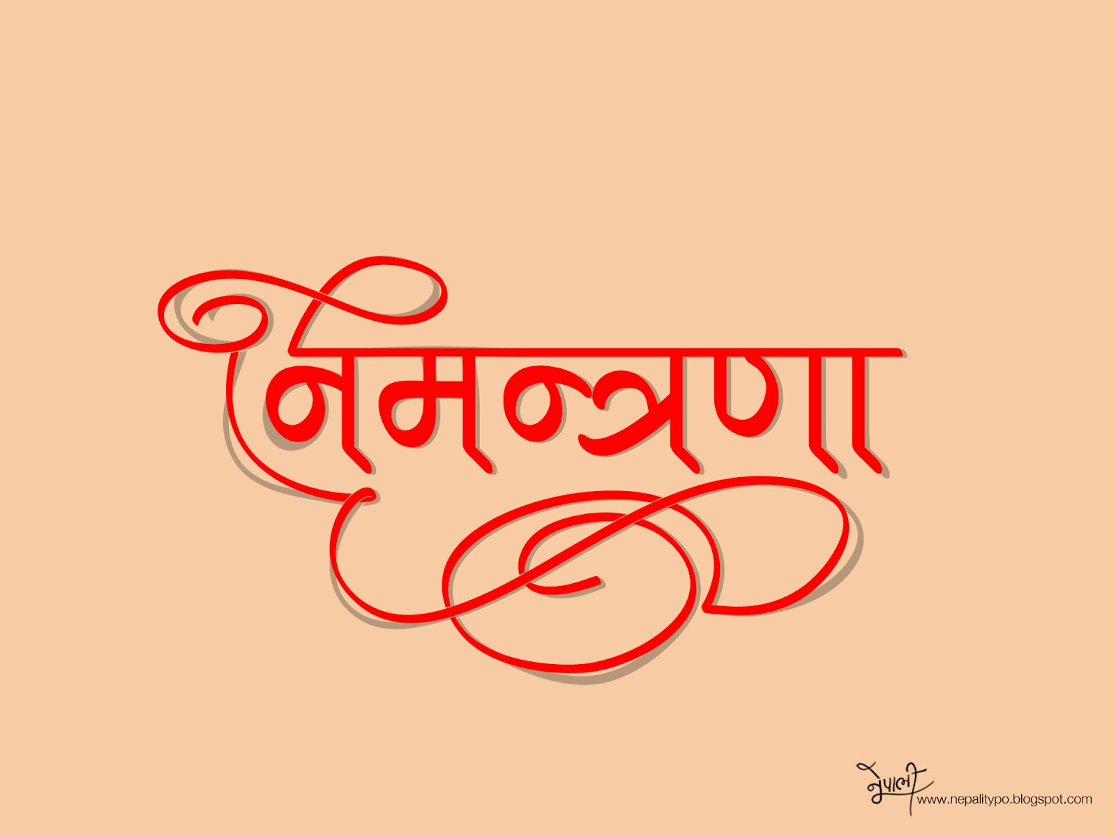 NepaliTypo: A Nepalese Typography and Calligraphy ...