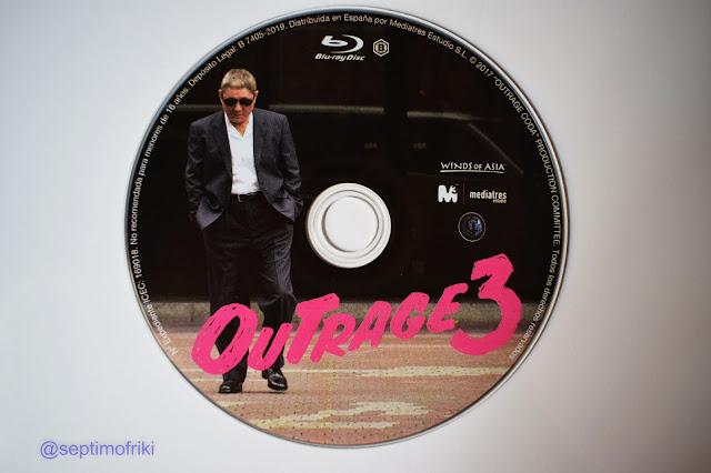 Análisis y reportaje fotográfico edición bluray 'Outrage 3'