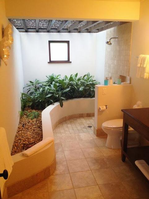 ตัวอย่างห้องน้ำแบบธรรมชาติ