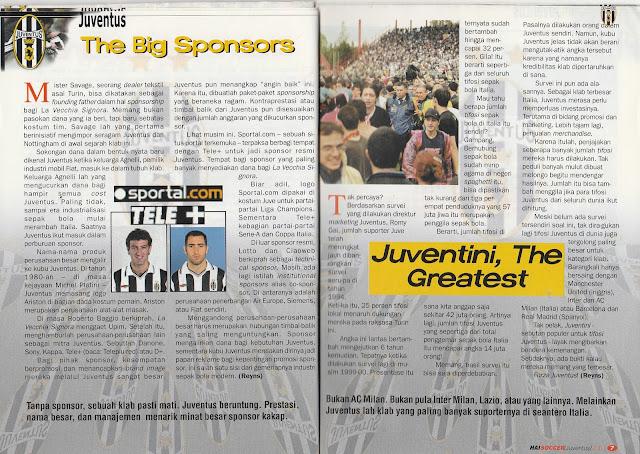 JUVENTUS THE BIG SPONSORS