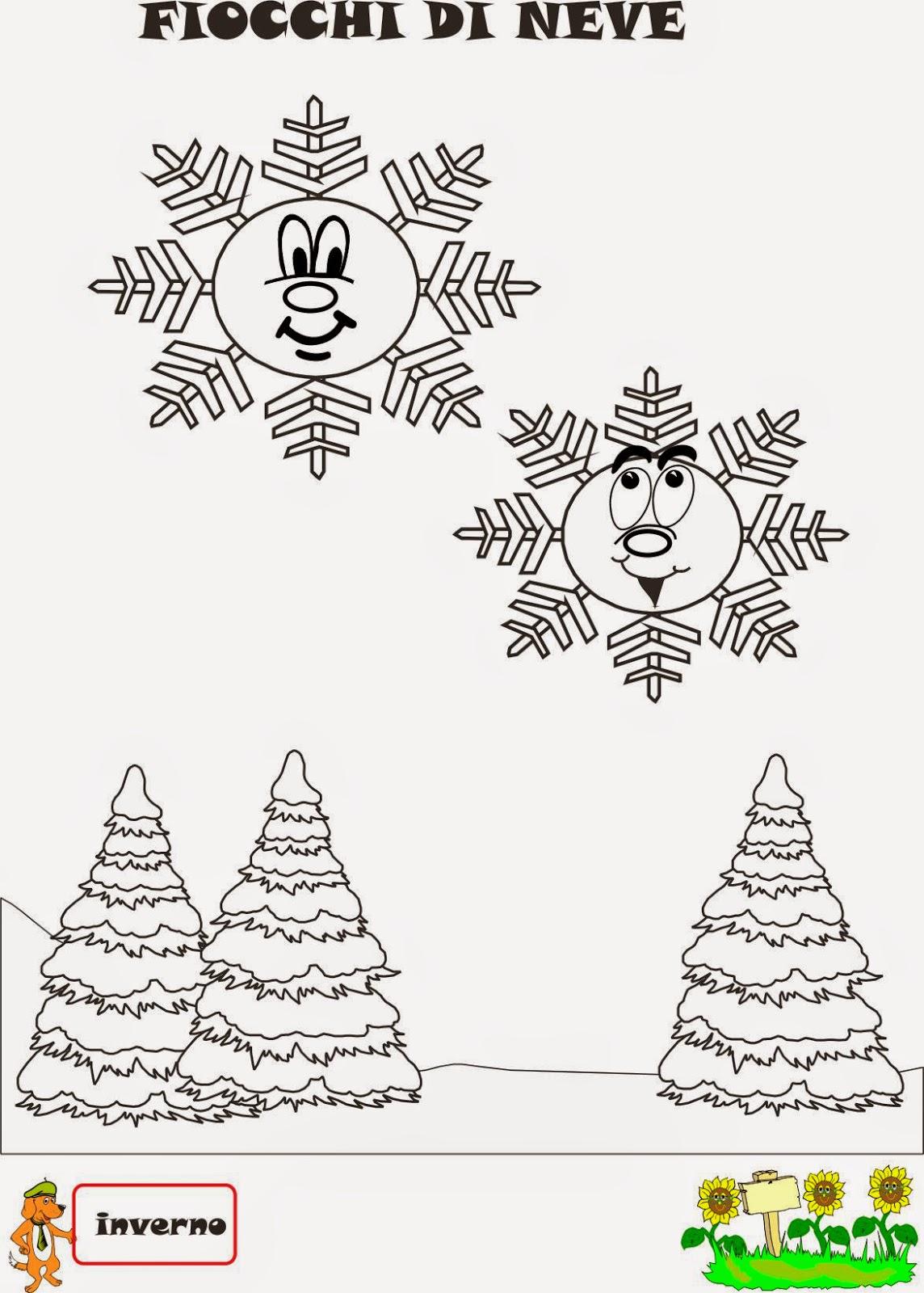 A Scuola Con Poldo Schede Didattiche Inverno