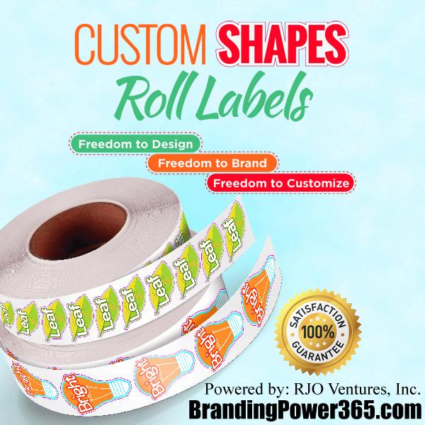 Custom Labels by BrandingPower365.com. Powered by: RJO Ventures, Inc. 786-208-1529