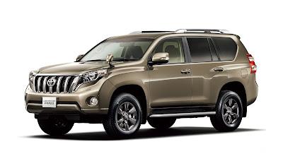 Toyota Land Cruiser Prado gold hd image