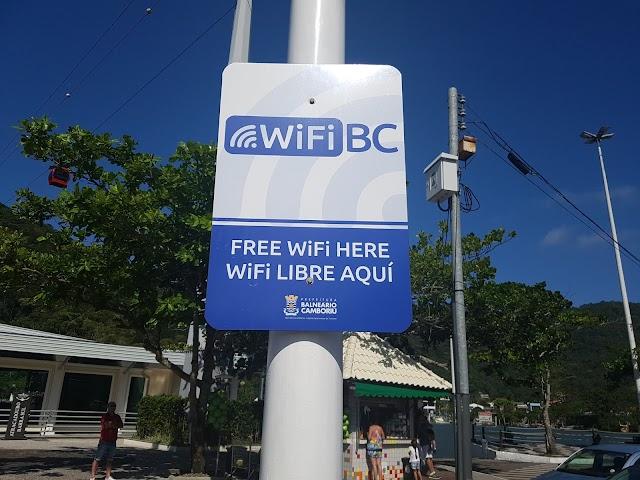Wifi de Balneário Camboriú