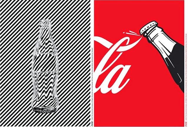 Imagenes conmemorativas de los 100 años de la botella de coca-cola
