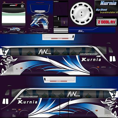 livery shd kurnia biru