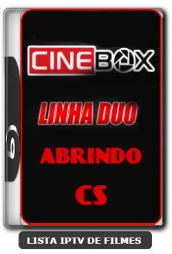 Cinebox linha duo ON abrindo com CS