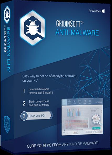 GridinSoft Anti-Malware 4.1.30.4769 poster box cover