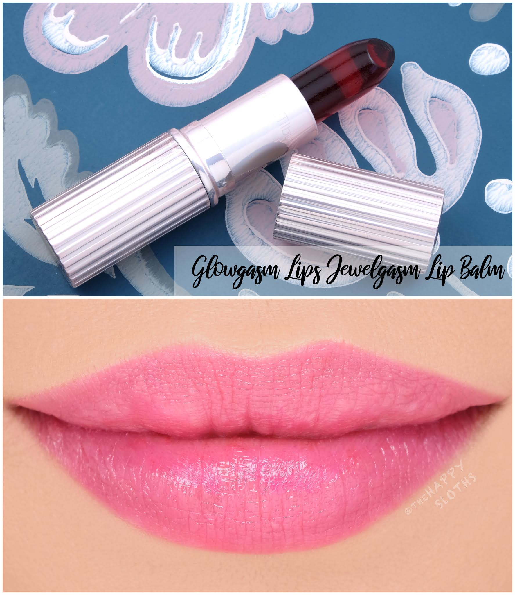Charlotte Tilbury | Glowgasm Lips Jewelgasm Lip Balm: Review and Swatches