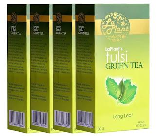 LaPlant Tulsi Green Tea