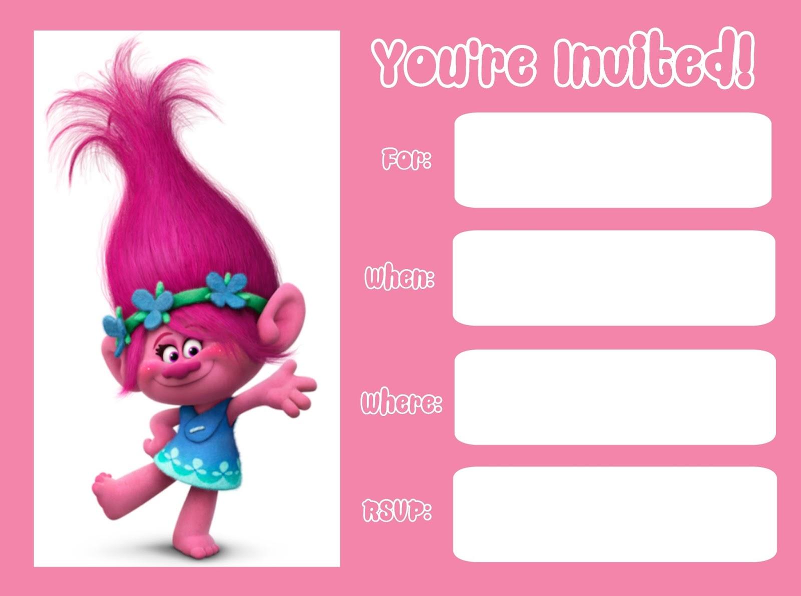 musings of an average mom trolls movie invitations