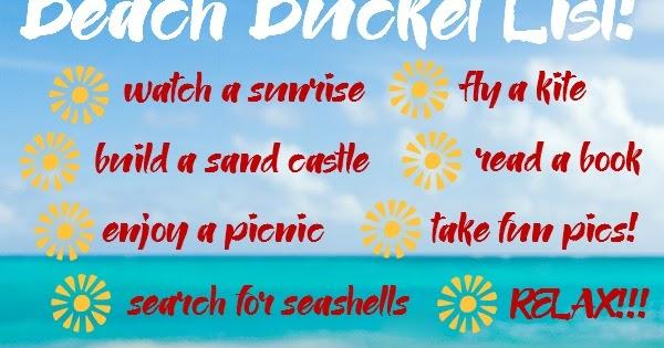 Road Trip Ready A Beach Bucket List