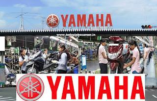 Yamaha Motor India Recruitment Diploma-Engineering Posts Freshers