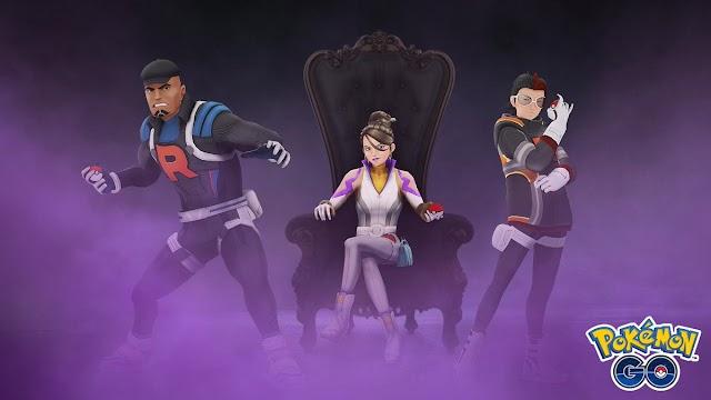 Como enfrentar os líderes Arlo, Cliff e Sierra da Equipe GO Rocket em Pokémon GO