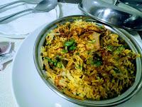 Veg biryani serving for veg(vegetable) biryani recipe