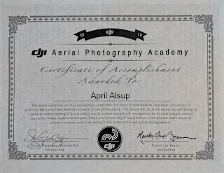 DJI photography course training materials