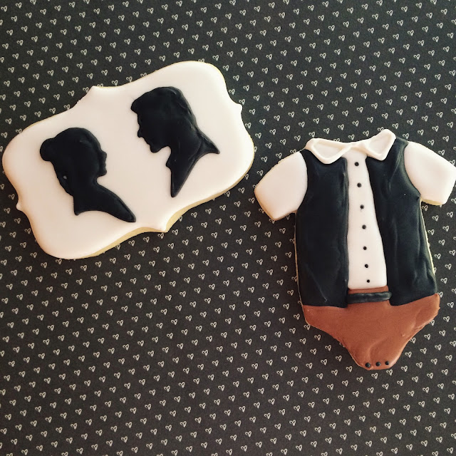 Star Wars Baby Shower Cookies by Sweet Jenny Belle